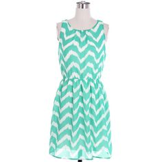 Mint Abstract Chevron Dress Navy Blue Colorblock Dress Causal Dress... ($38) ❤ liked on Polyvore featuring dresses, vestidos, short dresses, day dresses, green mini dress, short navy dress, navy wrap dress, green dress and chevron print dress