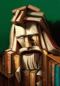 Old Man in Books Illusion - http://www.moillusions.com/old-man-in-books-illusion/