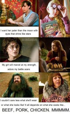 Harry Potter and Mulan -- (this is literally perfect except for the fact that Neville and Luna aren't a thing but I'll overlook that for the sake of this fine mashup)
