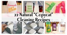 """Throw away your toxic Febreze, Oxy-clean, antibacterial dish soap, Bleach, Goo-gone and all the cleaners with artificial """"fragrance"""" and replace them with your own homemade cleaning products.  They are cheaper, more powerful and less toxic!"""