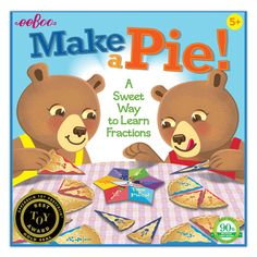 eeBoo's favorite educational toys and games for homeschooling all in one bundle. This bundle includes: Making Change Game Time Telling Game Make a Pie Game United Stated Bingo Addition Flash Cards Subtraction Flash Cards Save up to 15% off with eeBoo's Bundles! Find more here. Board Games For Kids, All Games, Pie Game, Addition Flashcards, Sweet Games, Fraction Games, 100 Piece Puzzles, 6 Years, Kids Learning