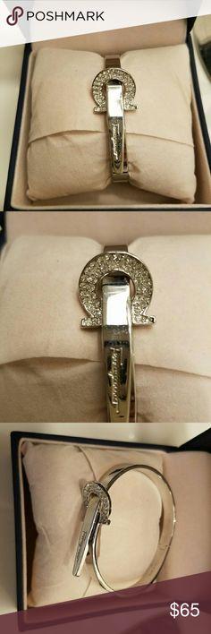 Ferragamo bracelet Ferragamo logo cute bracelet with crystal diamonds. Small free gift with every purchase Ferragamo Jewelry Bracelets