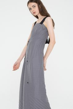 Diverge Tunic Dress - Shadow