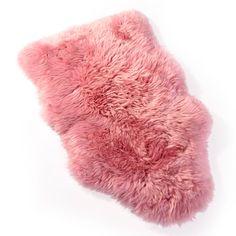 Rugs | Modern Rugs | Sheepskin Rugs | Leather Rugs | Flokati Rugs coral/ wine color