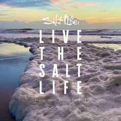 Sea Quotes, Life Quotes, Beach Memes, Beach Ideas, Men's Apparel, Life Photo, My Happy Place, Photo Credit, Salt