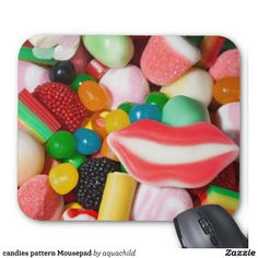 candies pattern Mousepad