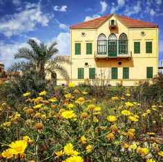 A beautiful house in Tyre, South Lebanon.