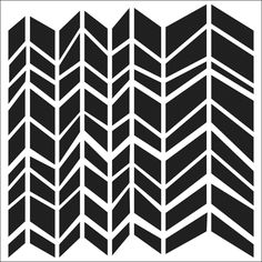 """Crafter's Workshop Templates 12""""X12""""-Chunky Chevron 
