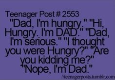 Teenager Post #2553