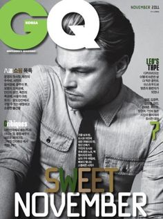 GQ magazine cover Gq Magazine Covers, Cool Magazine, Male Magazine, Leo Decaprio, Elle Marie, Cover Boy, Gq Style, Style Men, Gq Men