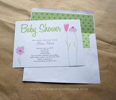 136 best diy baby shower invitations images on pinterest printable