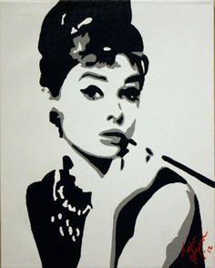 Audrey Hepburn Watermark