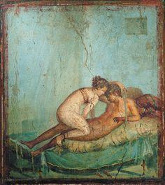 Wallpaper in ancient Pompei
