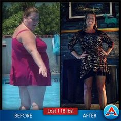 Congratulate Eileen-Carol, a mother of four who has maintained a #weightloss of 118 pounds - amazing! #LowCarb