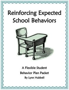 """Reinforcing Expected School Behaviors: A Flexible Student Behavior Plan Packet"" offers teachers a user friendly and differential strategy for addressing and modifying challenging student behavior in the classroom. It provides all necessary materials to implement and document a behavior plan that targets three expected school behaviors: compliance, task completion and being polite. $"
