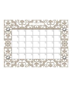 Look at this #zulilyfind! Kolkata Monthly Dry Erase Calendar Decal #zulilyfinds