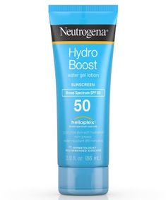 When You Want Sunscreen that Doesn't Feel at All Like a Sunscreen - Neutrogena Hydro Boost Water Gel Lotion SPF 50 Best Acne Products, Body Products, Best Sunscreens, Broad Spectrum Sunscreen, Moisturizer With Spf, Natural Deodorant, Neutrogena, Beauty Make Up, Nice Body