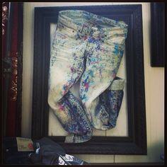 Jeans como arte!!!
