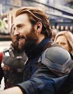 Steve Rogers in Infinity War