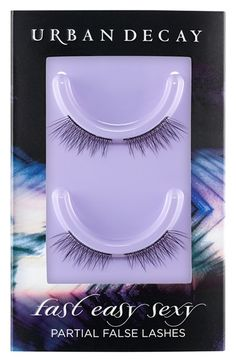 Urban Decay 'Fast Easy Sexy - Instalush' Partial False Lashes available at #Nordstrom