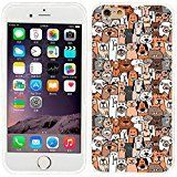 iPhone 6 plus Case, iphone 6 5.5 case,iphone6 plus case , full Protective unique Stylish Case slim durable Cover for iPhone 6 5.5 inch iphone 6+,cute doodle brown dogs and cats smile pet. The Custom CASE as shown, Cell phone case protect your cell phone from scratches, shocks and collisions etc.Special design allows easy access to all buttons.You do not need to worry its quality,the color will never fade out!No smell of safety and environmental protection for you and your family's…