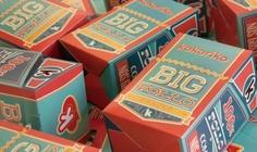 Big Pollo: empaque retro