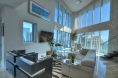 Staging job. Infinity at Brickell. Living room.