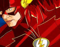 """Echa un vistazo a mi proyecto @Behance: """"The Flash - Fan Art"""" https://www.behance.net/gallery/61029671/The-Flash-Fan-Art"""