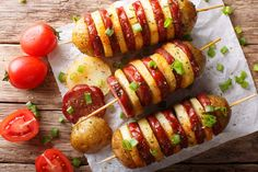 Šniceli u umaku od bijelog vina — Coolinarika No Cook Appetizers, Sausage Potatoes, Antipasto, Skewers, Creative Food, Baked Potato, Main Dishes, Food And Drink, Cooking Recipes