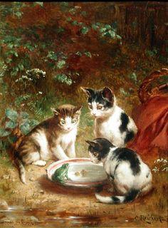A New Acquaintance, by Carl Reichert (1836-1918).