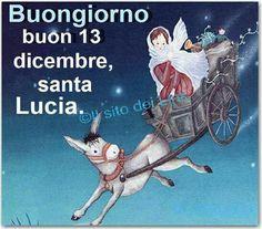 13 dicembre. Santa Lucia.