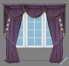 How does customization work - http://www.celuce.com/c/57/design-templates * Measure your window. Rule of thumb: width refers to the window width plus around 10''; height is from where you want to hang the valance to the floor. * Order online. Choose the preferred style, fabric, size, fringe to see the price. Check out online any time. * Delivery. It takes 2-5 weeks from the time of ordering to delivery.  * Installation. Use curtain rod(s) to install our valance curtains.
