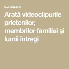 Arată videoclipurile prietenilor, membrilor familiei și lumii întregi Bring Me Down, Tech House, Prank Videos, Best Youtubers, Google, The Creator, Songs, Tips, Song Books