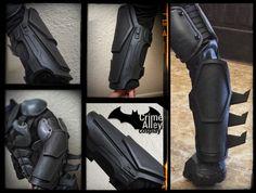 Batman Arkham Origins Inspired Gauntlets on Etsy.