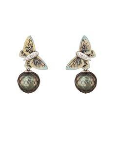 Butterfly earrings by Ilgiz Fazulzyanov