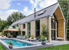 haus Tour An English Country House Co-Designed By Kate Moss! Browse through our gallery and get insp Co Design, House Design, Design Ideas, Interior Design Career, Design Exterior, English Country Decor, French Country, Modern Barn, Contemporary Barn