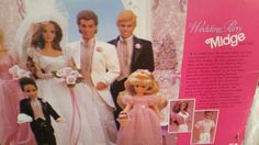 Wedding Party Midge gift set 1990 by Blissfulcollectables on Etsy