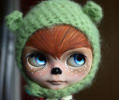Little Deer Blythe by rainbowcoton, via Flickr