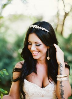 bride with tattoos <3
