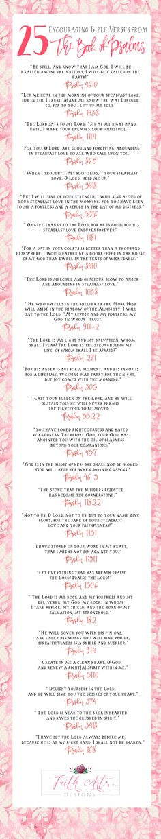 25 Encouraging Bible Verses from the Book of Psalms
