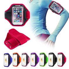 Gym Running exercise Arm Band Sports Armband Case Holder For Various Phones in Mobile Phones & Communication, Mobile Phone & PDA Accessories, Cases & Covers | eBay
