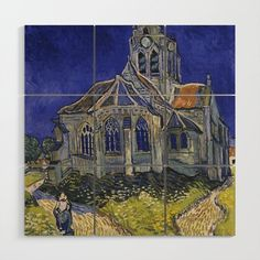 Vincent van Gogh The Church at Auvers sur Oise print for sale. Shop for Vincent van Gogh The Church at Auvers sur Oise painting and frame at discount price, ships in 24 hours. Art Van, Van Gogh Art, Van Gogh Pinturas, Vincent Van Gogh, Canvas Art, Canvas Prints, Canvas Size, Big Canvas, Canvas Paintings