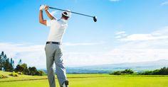 Golf fitness banner