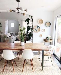 Home Decor Scandinavian .Home Decor Scandinavian Dining Room Design, Interior Design Living Room, Living Room Decor, Danish Interior Design, Interior Livingroom, Interior Designing, Dining Set, Decor Scandinavian, Scandinavian Furniture