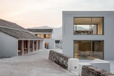 Miya Lost Villa, a Rural Chinese Barn Resort, Draws Crowds Away from Shanghai - Design Milk China Architecture, Cultural Architecture, Amazing Architecture, Contemporary Architecture, Architecture Design, Contemporary Building, Facade Design, Villa Design, House Design