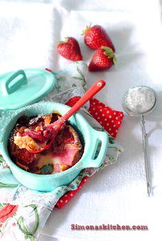 Clafoutis di Fragole - Strawberry Clafoutis