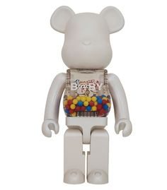 1000% Bearbrick My first baby white