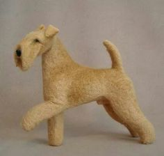 Lakeland  terrier needle felt
