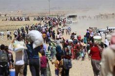 حظر بغداد الجوي على الإقليم يطفىء أخر أمل للنازحين داخل الخيام