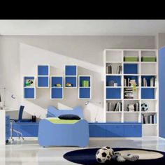 Like the block shelves on wall....for minecraft theme